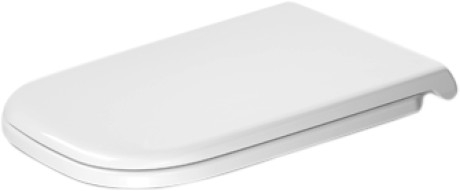 Capac WC Duravit D-CODE Soft Alb
