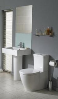 Rezervor WC Ideal Standard Connect CUBE , 3/6 L, dubla actionare ,alimentare laterala