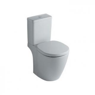 Vas WC monobloc Ideal Standard Connect,scurgere orizontala,36x66 cm