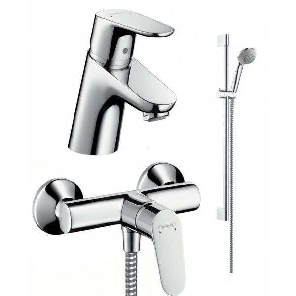 Set dus 3 in 1 Hansgrohe Focus E2 Confort