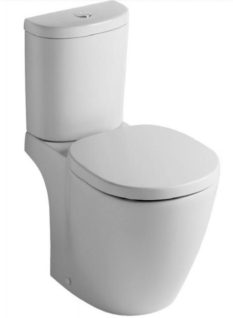 Set PROMO Vas WC Ideal Standard Connect cu rezervor ARC si capac WC