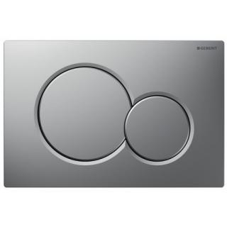 Clapeta actionare Dual-Flush,Geberit Sigma 01,pentru rezervor incastrat,crom mat de la Geberit