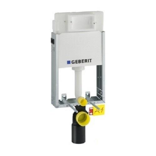 Rezervor incastrat pentru WC suspendat Geberit Kombifix Delta 12 cm grosime