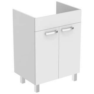 Baza lavoar pe pardoseala Ideal Standard Tempo60 cm,alb lucios