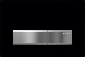 Clapeta actionare rezervor incastrat Dual-Flush Geberit Sigma50 negru de la Geberit