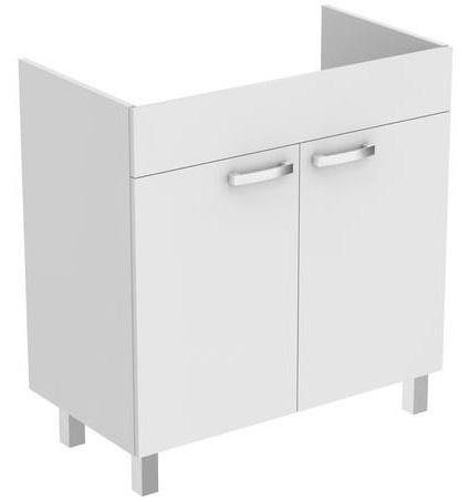 Baza lavoar pe pardoseala Ideal Standard Tempo 80 cm, alb lucios