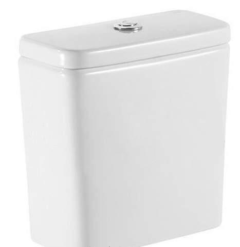 Rezervor WC aparent Roca Debba cu alimentare laterala si montaj pe vas
