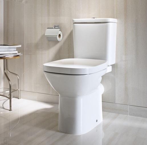 Vas WC cu montaj pe pardoseala Roca Debba evacuare laterala