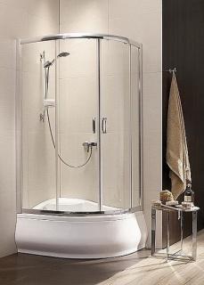 Imagine Cabina De Dus Radaway Premium Plus E 1700, Usi Glisante, 120x90x170