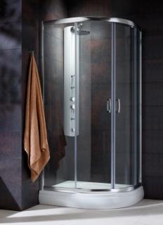 Imagine Cabina De Dus Semirotunda Radaway Premium Plus E 1900, Usi Glisante,