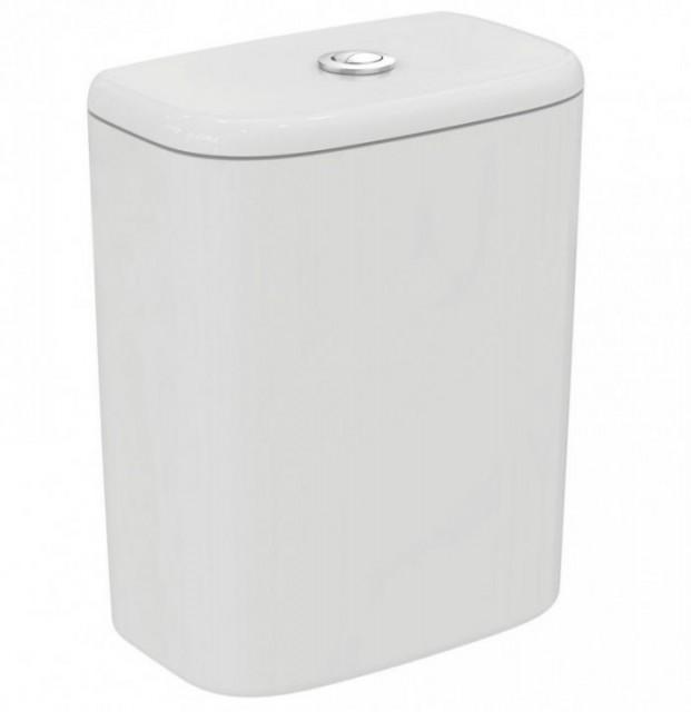 Rezervor WC asezat, Ideal Standard Tesi, cu alimentare inferioara
