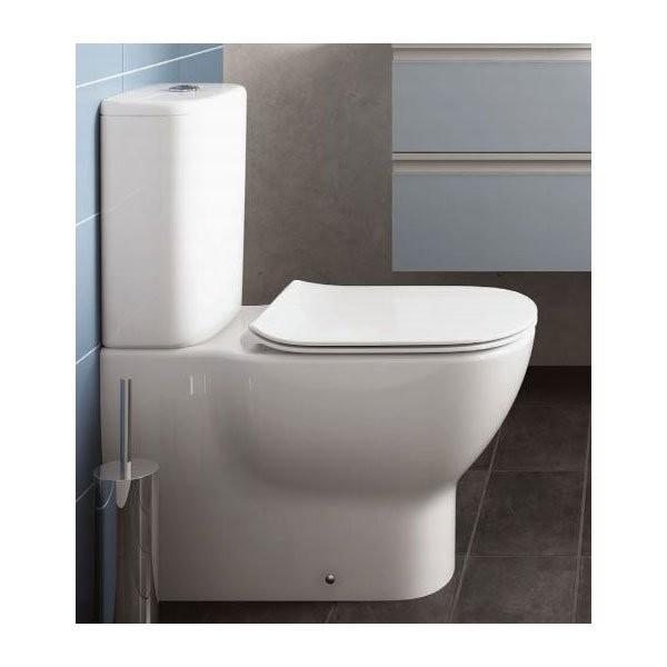 Vas WC pe pardoseala Ideal Standard Tesi AquaBlade lipit de perete