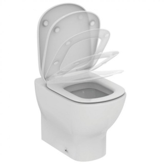 Vas wc pe pardoseala Ideal Standard Tesi lipit la perete