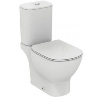 Vas WC pe pardoseala, Ideal Standard Tesi cu rezervor asezat si capac inchidere lenta de la Ideal Standard