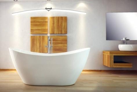 Cada Besco Viya freestanding alba 160 x 70 cm