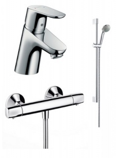 Set baie 3in1 Hansgrohe Focus Termostat