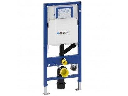 Rezervor incastrat Geberit Duofix Sigma UP320 de 12 cm grosime cu cadru si actionare frontala, H112 cm cu extractia mirosului de la Geberit