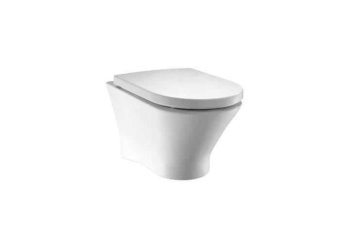 Vas WC suspendat Roca Nexo cu Clean Rim, pentru rezervor incastrat