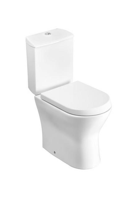 Vas WC pe pardoseala, Roca Nexo cu dubla evacuare, pentru rezervor asezat