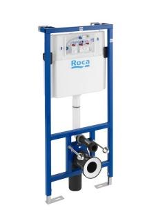 Rezervor ingropat Roca Dupplo si cadru pentru WC suspendat 50x14xH112 cm