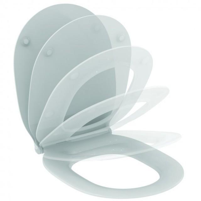 Capac WC Ideal Standard Connect Air cu inchidere lenta, slim