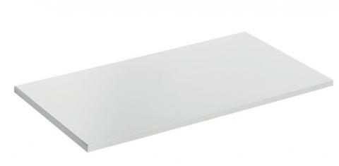 Blat mobilier baie Ideal Standard Connect Air 100,4 x 44,2 x 18 cm alb lucios