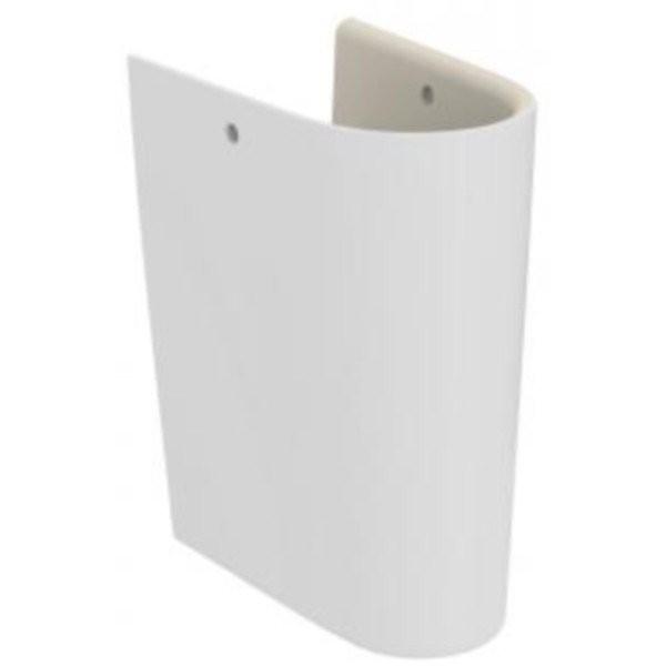 Semipicior mic pentru lavoar Ideal Standard Connect Air, Cube 40cm/Curve 45cm