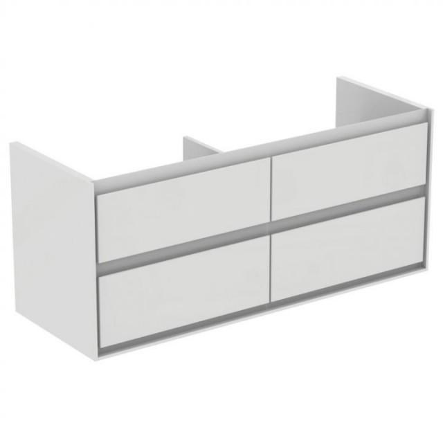 Dulap baza Ideal Standard Connect Air 120 x 44 x H52 cm, alb, 4 sertare