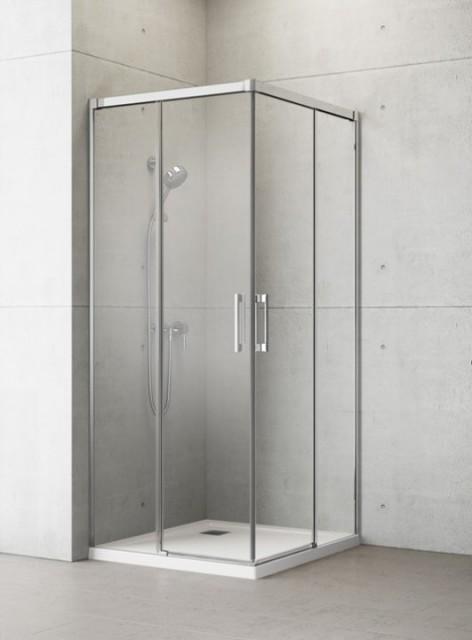 Usa cabina dus Radaway Idea KDD 100 x H 200,5 cm, sticla transparenta