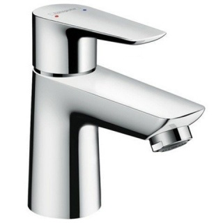 Imagine Baterie Lavoar Monocomanda Hansgrohe Talis E 80 Cu Ventil Pop-up