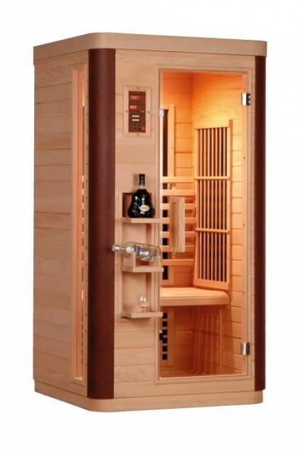 Sauna cu infrarosu Sanotechnik Diamant 1, 99 x 90 x 190 cm