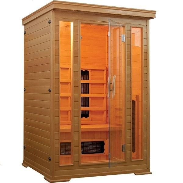 Sauna cu infrarosu Sanotechnik Carmen 120 x 120 x 190 cm