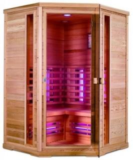 Sauna cu infrarosu Sanotechnik Apollo 130 x 130 x 200 cm