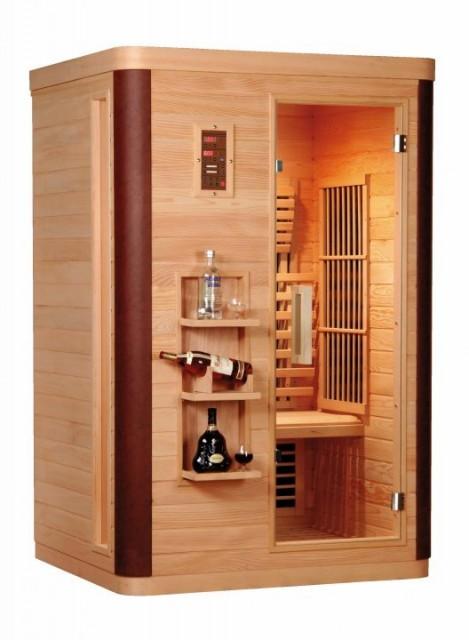 Sauna cu infrarosu Sanotechnik Diamant 2, 122 x 104 x 190 cm