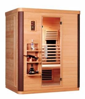 Sauna nordica cu infrarosu Sanotechnik Diamant 3, 155 x 108 x 190 cm