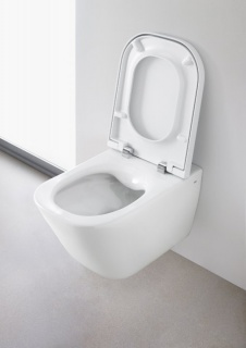 Vas wc suspendat Roca The Gap compact Rimless