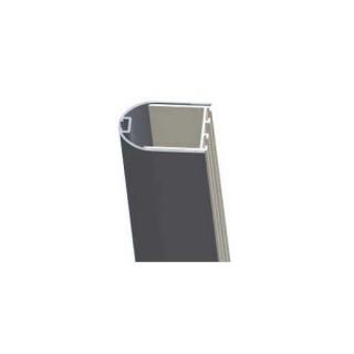 Profil cu cheder magnetic Sanotechnik pentru inchiderea usilor la perete