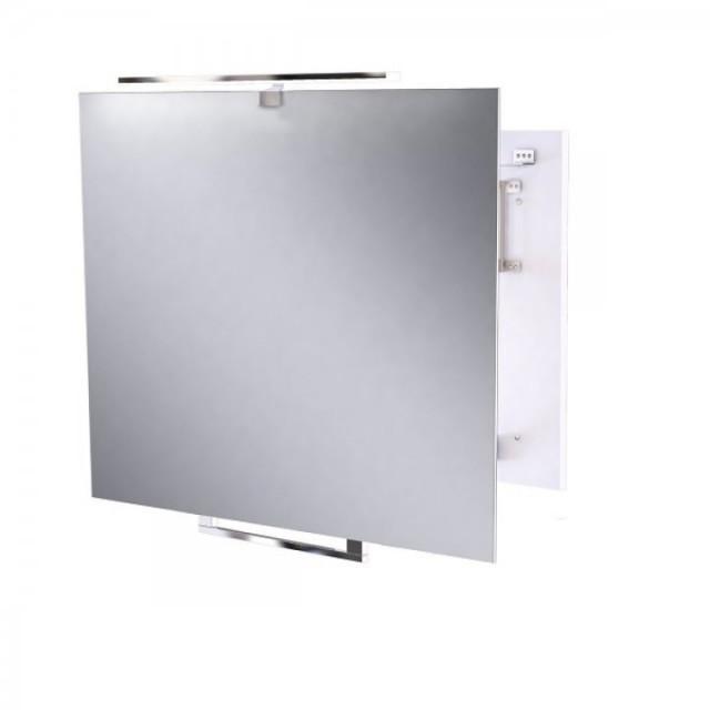 Oglinda extensibila ergonomica Miior cu led 80 x 60 x 6-35 cm
