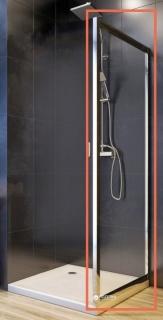 Perete lateral cabina de dus Aquaform Nigra 90 x H185 cm