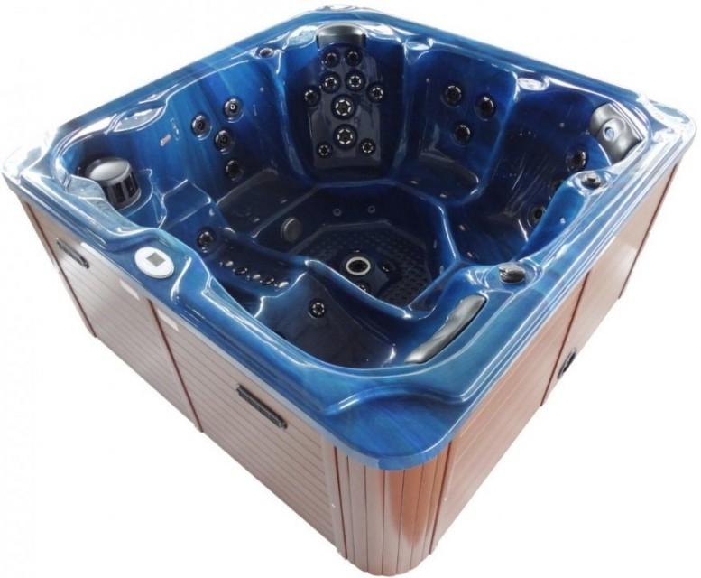 Minipiscina Sanotechnik Oasis Maxi, 210x210x92cm albastru