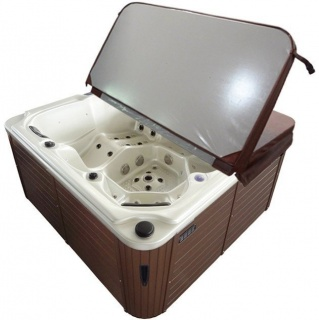 Minipiscina Sanotechnik Oasis Maxi, 210x210x92cm alb imagine