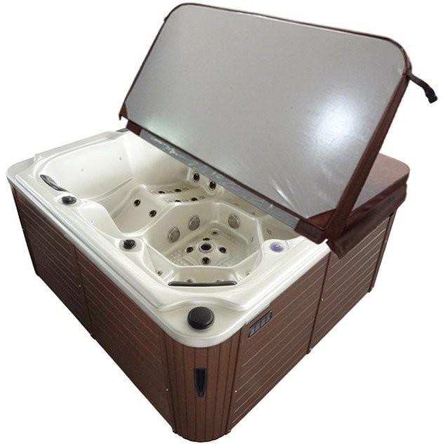 Minipiscina Sanotechnik Oasis Maxi, 210x210x92cm alb