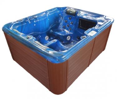 Minipiscina Sanotechnik Oasis, 208x175x90cm albastru