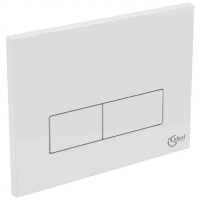 Clapeta actionare rezervor incastrat Ideal Standard, culoare alb
