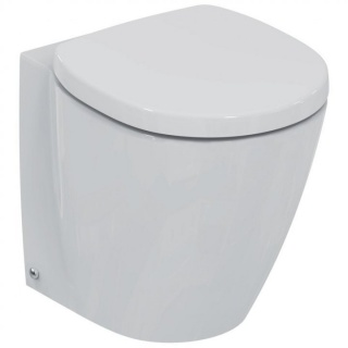 Vas WC Ideal Standard Connect Space Compact ,back-to-wall pentru rezervor ingropat