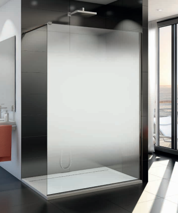 Cabina dus Walk-in SanSwiss Easy Shade, 1200 x H2000 mm