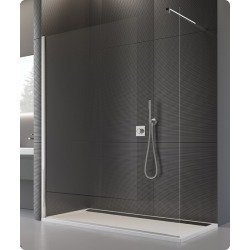 Imagine  Cabina Dus Walk-in Sanswiss Pur Pdt4p 750 Mm, Profil Crom