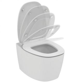 Set PROMO vas WC AquaBlade cu capac inchidere lenta Ideal Standard Dea