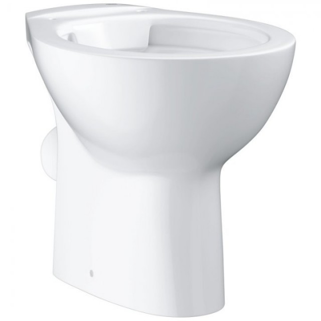 Vas WC Grohe Bau Ceramic pe pardoseala Rimless 52x36xH40 cm