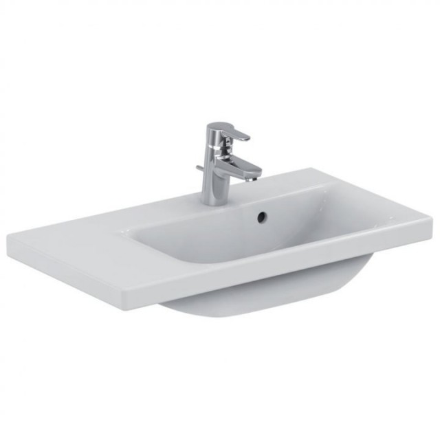 Lavoar Ideal Standard Connect Space cu platforma stanga 70x38 cm